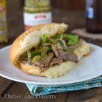 Cheesy Steak Sandwiches {Dinners, Dishes, and Desserts}