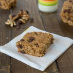 Walnut Chocolate Chip Protein Bars