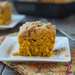 Apple Pumpkin Coffee Cake {Dinners, Dishes, and Desserts}