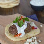 Greek Meatball Sandwiches
