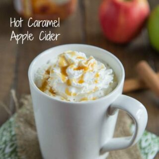 Hot Caramel Apple Cider #IDelight