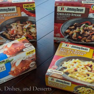 Jimmy Dean New Frozen Entrees
