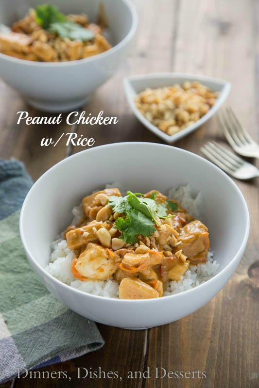 Peanut Chicken With Rice Recipe