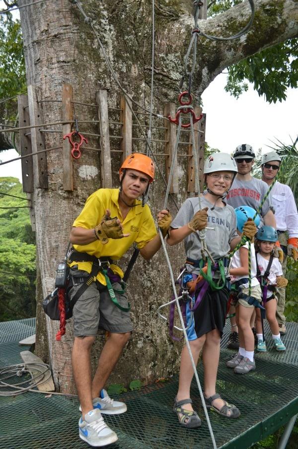 Zip Line Manuel Antionio Costa Rica