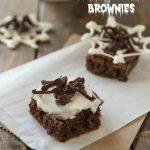 Spooky Spider Brownies