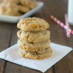 Soft and Chewy Butterscotch Chip Pudding Cookies are so soft and fluffy. Butterscotch pudding and butterscotch chips give them tons of flavor.