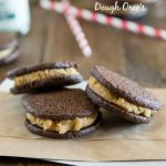 Homemade Peanut Butter Cookie Dough Oreos
