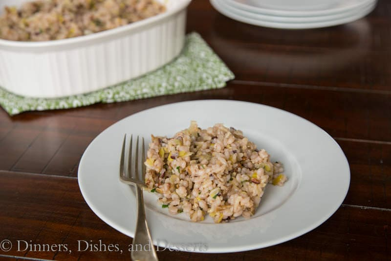 Multigrain Pilaf with Sunflower Seeds {Dinners, Dishes, and Desserts}