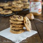 Biscoff Chocolate Chip Cookies {Dinners, Dishes, and Desserts}