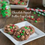 Chocolate Peanut Butter Cup Cookies & Wusthof Giveaway