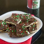 Chocolate Saltine Toffee (aka Christmas Crack)