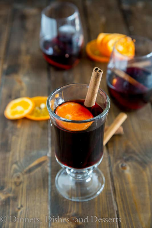 Spiced Mulled Wine - a classic winter tradition