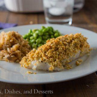 Cracker Crusted Cod