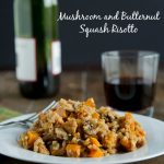 Mushroom and Butternut Squash Risotto