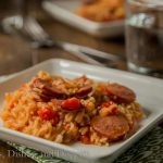 Spicy Sausage Spanish Rice Skillet