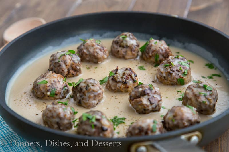Swedish Meatballs – Classic Swedish Meatballs seasoned with nutmeg ...
