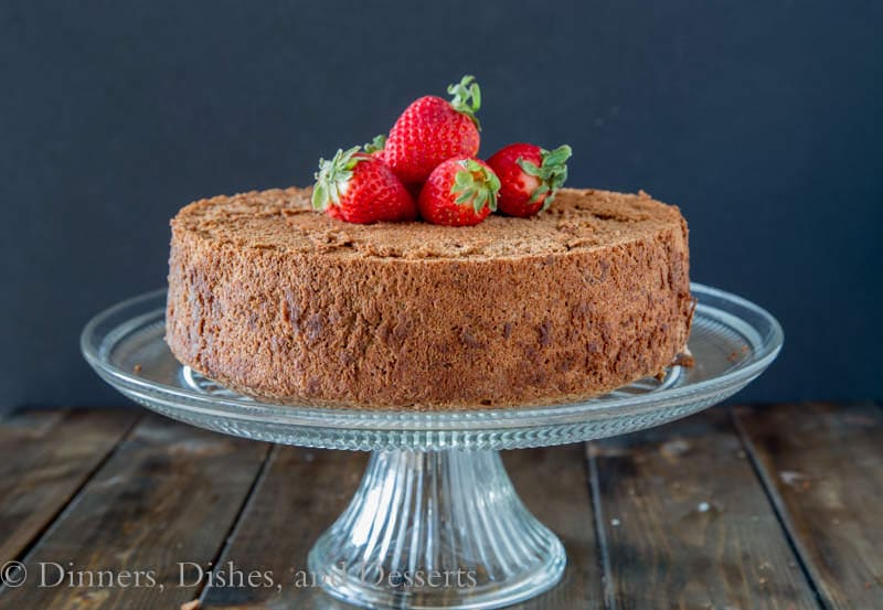 ... the recipe for Chocolate Angel Food Cake and the Strawberry Parfaits