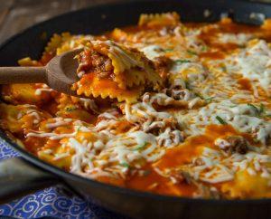 Skillet Lasagna 2 square