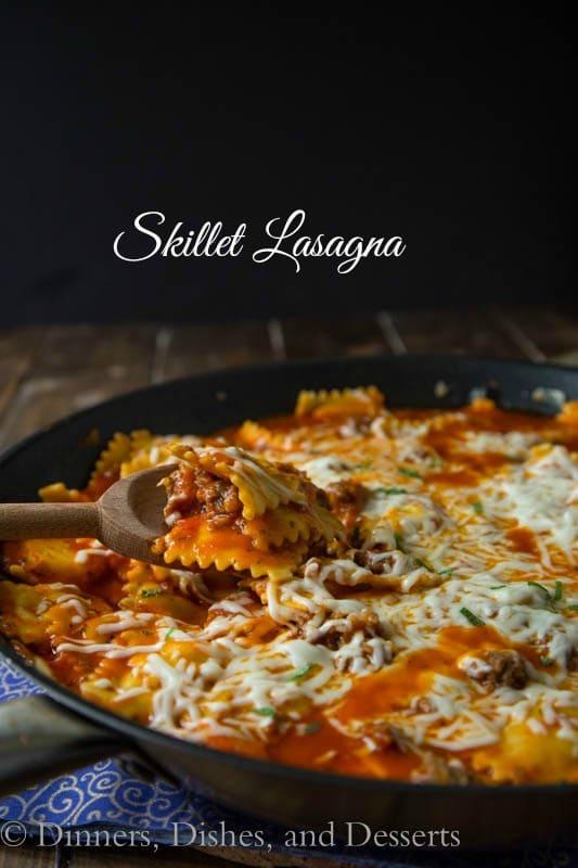 Quick and Easy Skillet Lasagna