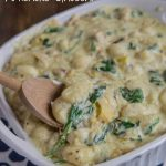 Creamy Spinach and Artichoke Gnocchi