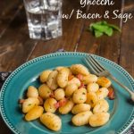 Sweet Potato with Bacon & Sage