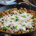 Pizza Pasta Skillets {Dinners, Dishes, and Desserts}