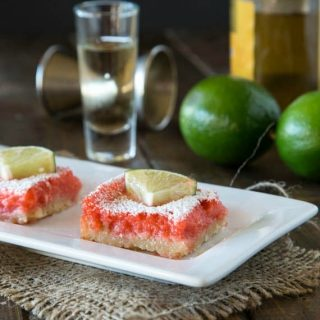Strawberry Margarita Bars