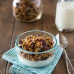 Honey Pumpkin Seed Granola {Dinners, Dishes, and Desserts}