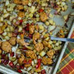 Oven Roasted Potatoes and Sausage