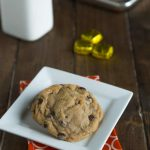 Caramel Stuffed Chocolate Chip Cookies - what could be better than a soft and chewy cookie with an gooey caramel candy inside!