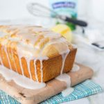 Iced Almond-Lemon Loaf Cake