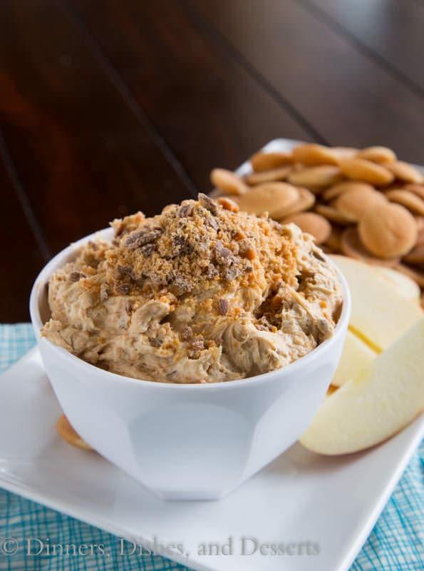Peanut Butter Butterfinger Dip 3