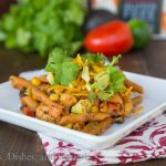 Southwestern Chicken Pastas {Dinners, Dishes, and Desserts}