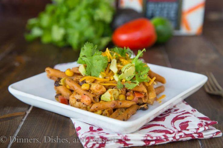 Southwestern Chicken Pasta