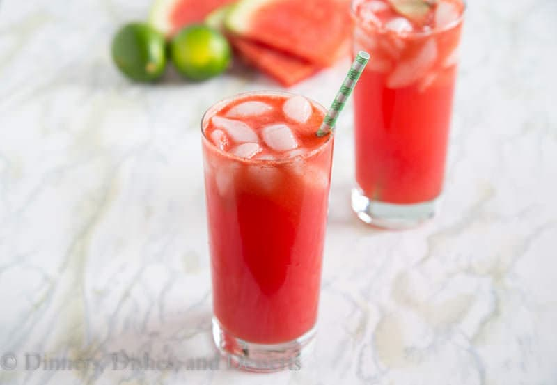 Watermelon Soda {Dinners, Dishes, and Desserts}