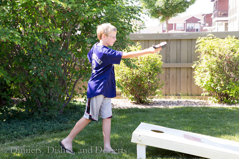 Bean Bag Toss is the perfect game for a summer get together!