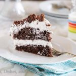 Chocolate Cream Cake {Dinners, Dishes, and Desserts}