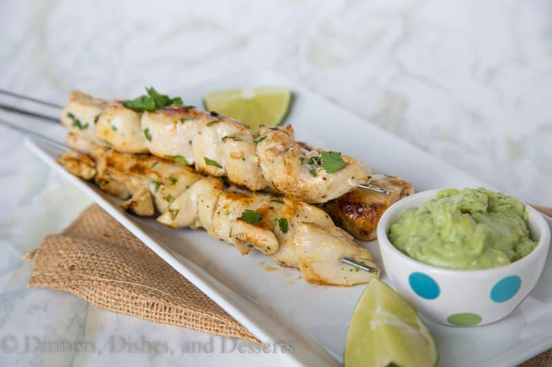 Cilantro Lime Chicken {Dinners, Dishes, and Desserts}