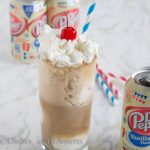 Dr. Pepper Vanilla Ice Cream Floats