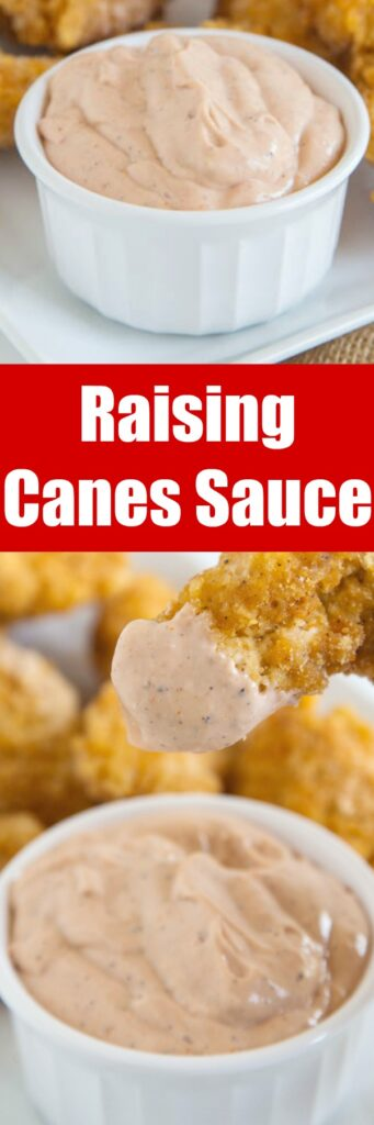 Canes sauce is known for its crazy good flavor profile. Dip your chicken fingers, potato chips, and even fries.