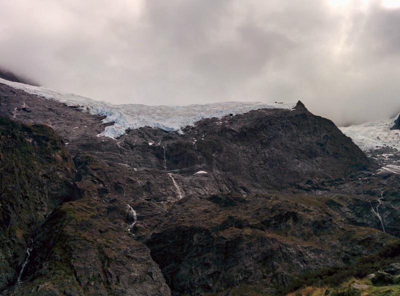 Rob Roy Glacier outside of Wanaka New Zealand