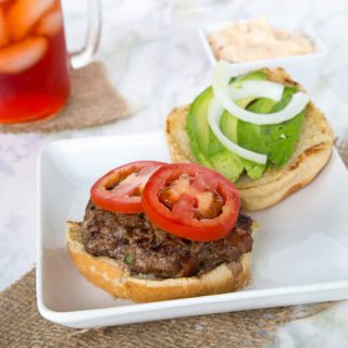Jalapeno Bacon Burger
