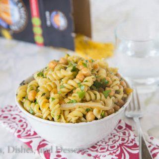 Middle Eastern Pasta Salad #Pastapalooza