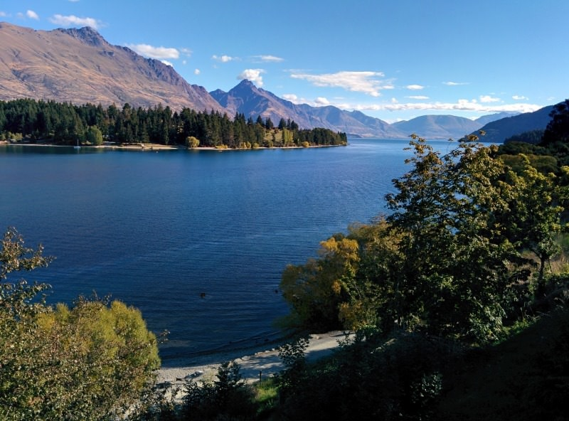 Lake Wakatipu - Queenstown New Zealand