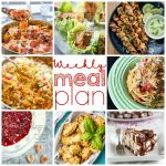 Weekly Meal Plan brought to you by 8 top bloggers