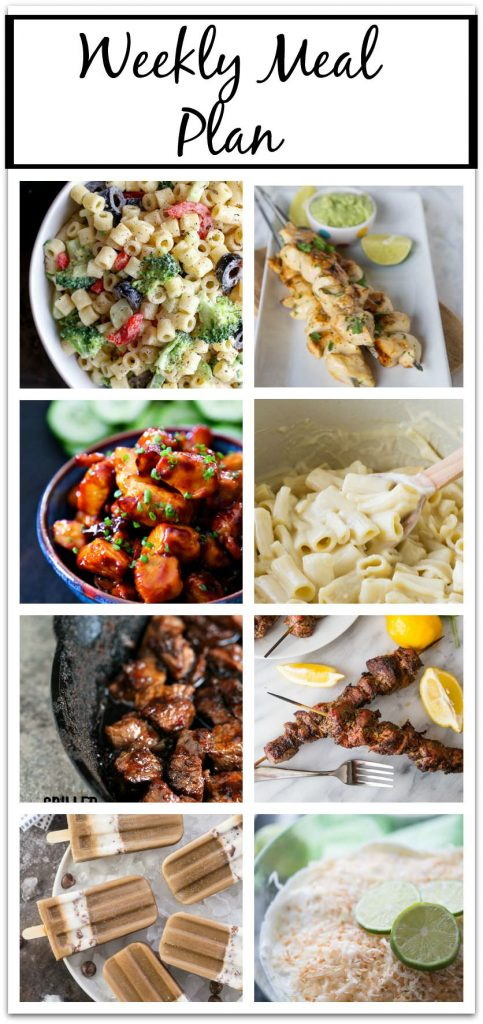 Weekly Meal Planning made easy!!  8 bloggers giving you 6 main dishes and 2 desserts to help you get through the week!
