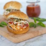 Parm Style Chicken Burgers
