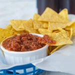Easy Homemade Salsa 2 square