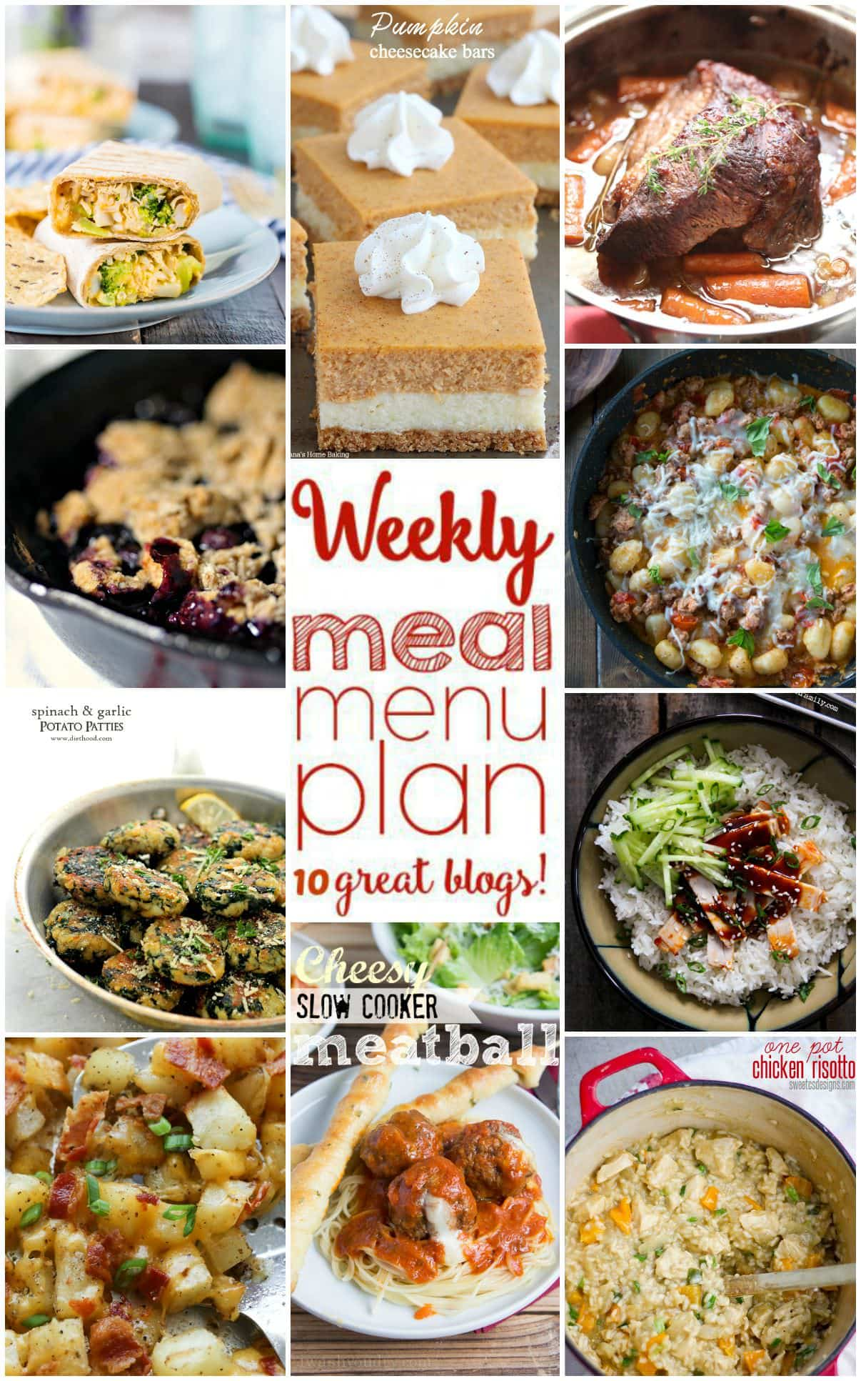 Easy meal plan week of september 7th to 13th foodie for Easy side dishes to make