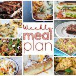 Weekly Meal Plan Week 7